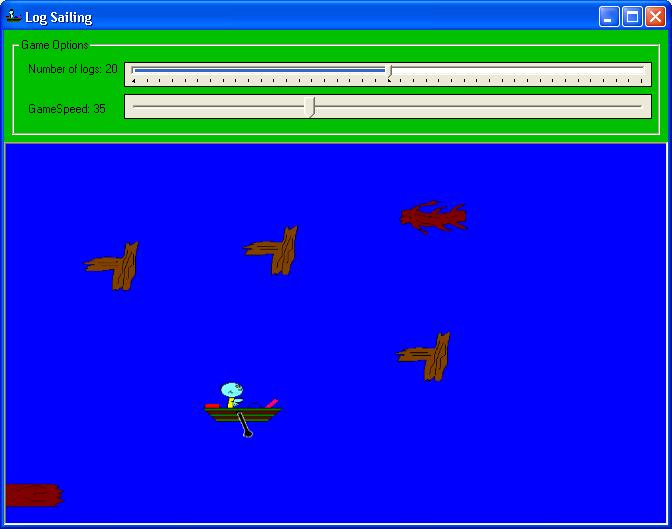 Log Sailing Screen shot