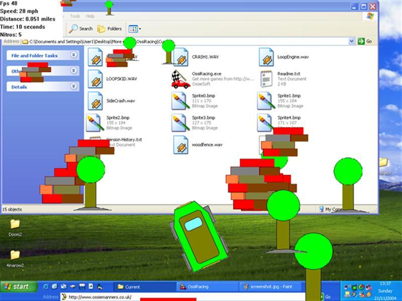 Click to view OssiRacing 1.1 screenshot